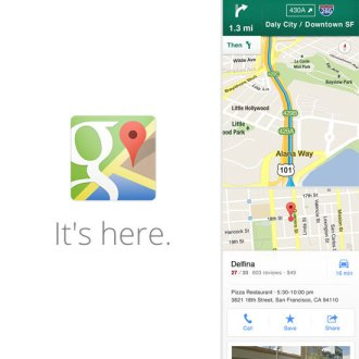 Google-Maps-App-iPhone